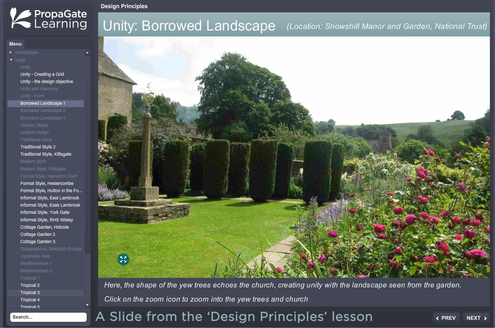 Learn Online with the Royal Botanic Garden Edinburgh RHS Level 3